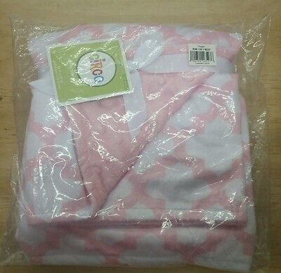 "Circo Target Pink Zs Valboa Popcorn Baby Blanket, 30""x40"", NWT"