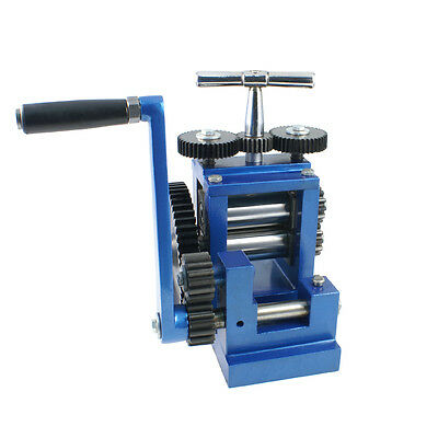Rolling Mill 80 mm - Compact Flat - Jewelry Making Tools - 28-281