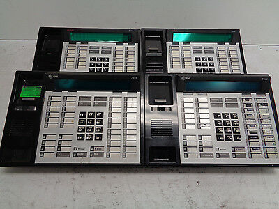Lot of (2) Avaya 7444 & (2) AT&T 7444 Business Telephone Lucent Merlin