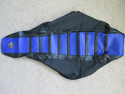 FL DESIGNS BLK//RED PLEATED GRIPPER SEAT COVER YAMAHA YZ250F//YZ450F  06 07 08 09