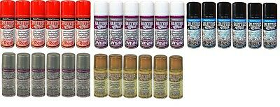 6 X 200ml Glitter Effect Spray Paint Decorative Hobby Creative Art Crafts Pictur