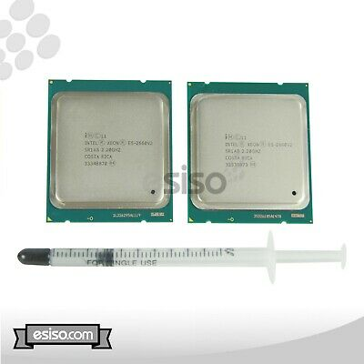MATCHING PAIR SR1AB INTEL XEON E5-2660V2 10 CORE 2.20GHz FOR DELL C8220