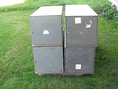 Two Each Planhold and Stacor Blueprint Storage Cabinets