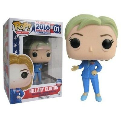 Funko - POP The Vote: Hillary Clinton #01 New In Box