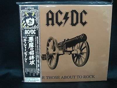 AC/DC For Those About To Rock We Salute You JAPAN Digipak CD 1981 8th Digi Pac