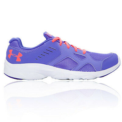 Under Armour GGS Pace Junior Girls Purple Running Sports Shoes Trainers