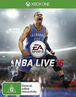 Nba Live 16 (pal Import)  - Xbox One game - BRAND NEW