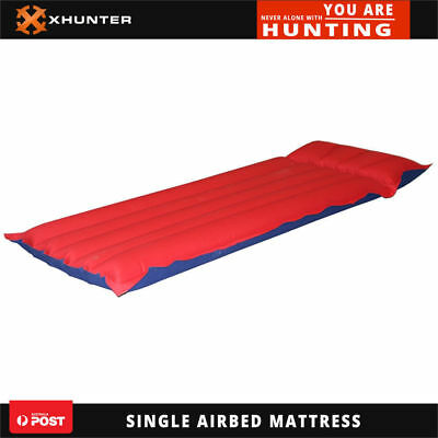 Heavy Duty 5Tube Lilo Inflatable Hiking Camping Airbed Sleeping Air Bed Mattress