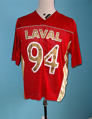 CIS Laval Rouge et Or Football Jersey Shirt XL University Canada