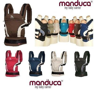 Sale New Manduca BABY CARRIER Brown FRONT BACK HIP Newborn Infant Toddler Child