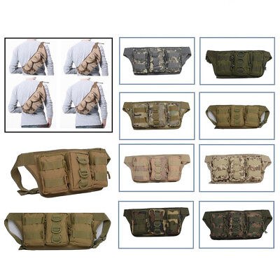 New Tactical Waist Pack BL025 Camping Hiking Bag Casual Travel Sport Bicycle