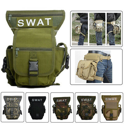 Tactical Leg Pouch Thigh Holster Outdoor Utility Fishing Travel Tools Bag Camp