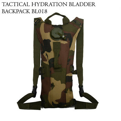 3 Litre Hydration Pack Backpack Bag With Water Bladder For Running Cycling Camp