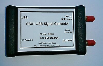 USB Signal Generator 40M~3200MHz --- Made in USA
