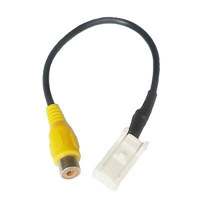 Car Factory OEM Headunit 8Pin Socket Cable Rearview Camera RCA Cable for Subaru