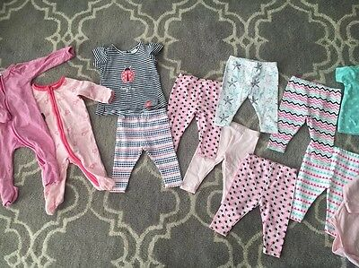 Baby Girls 000 Lot Including Bonds, Cotton On,
