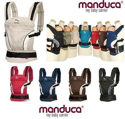 Sale New Manduca BABY CARRIER WHITE FRONT BACK HIP Newborn Infant Toddler Child