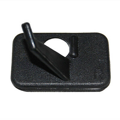 1pcs Hunting Archery Arrow Rest Right Hand for Recurve Bow Longbow Black Plastic