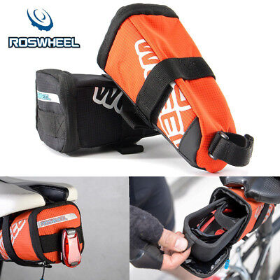 ROSWHEEL Bike Bicycle Saddle Bag Back Seat Tail Pouch EVA Cycling Storage New