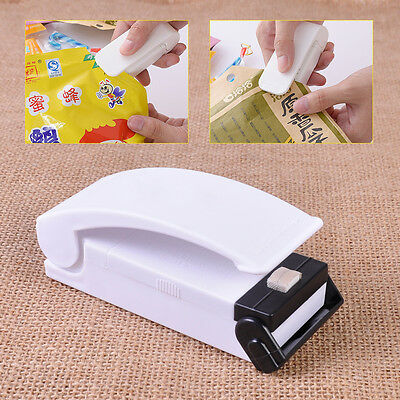 Mini Portable Home Heat Sealing Machine Food Packing Plastic Bag Impulse Sealer