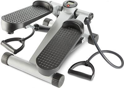 Andrew James Exercise Stepper, Mini Aerobic Fitness Stepper and Resistance Cords
