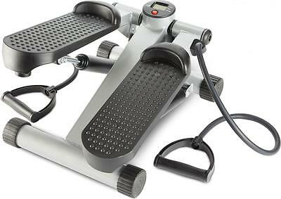 Cross Gym Mini Stepper + Resistance Bands for Leg + Arm Toning by Andrew James
