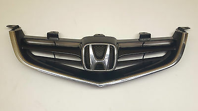Honda Accord '03-07 Mk7 Front Grill Grille With Badge