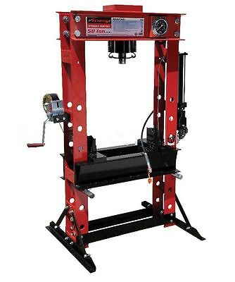 Neilsen 50 Ton Heavy Duty Hydraulic Shop Press CT2594 Free delivery