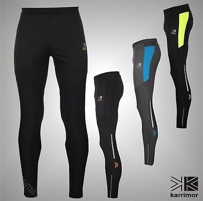 fba8bedc7dbb75 Men's Clothing Tights Pants Breathable New Activewear Bottoms Mens KARRIMOR  X-Lite Full Length Running Trousers