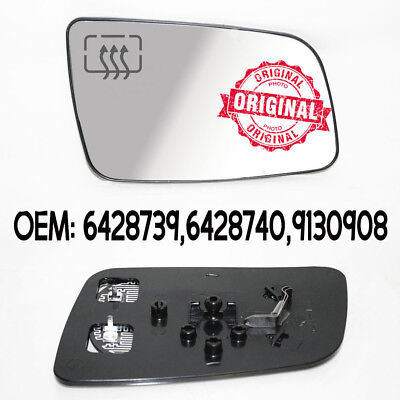 Right Wing Mirror Wide Angle Heated Glass Base For Opel Vauxhall Astra G 98-09