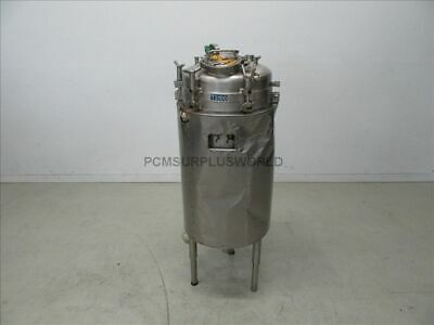 Insulated Stainless Steel Vessel, Reservoir, Conical Tank 200 L.