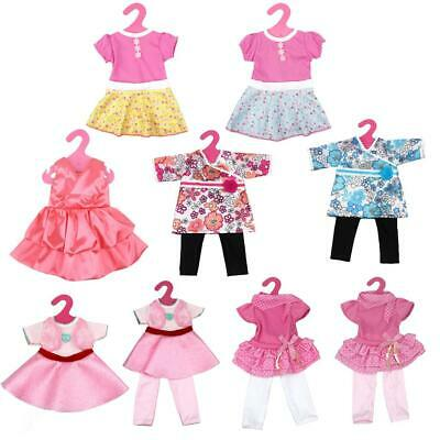 """Cute Back Hook & Loop Dress fit 18"""" American Girl & Our Generation Dolls Clothes"""
