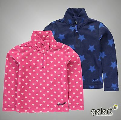Infants Girls Boys Branded Gelert Warm Long Sleeves Atlas Fleece Size Age 2-6