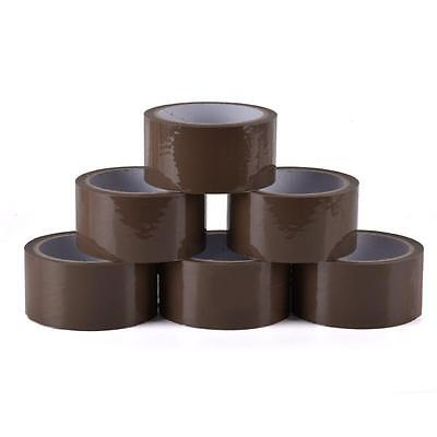 72 PACKING TAPES - BROWN / CLEAR / FRAGILE 48mm x 66M Rolls STRONG PARCEL TAPE