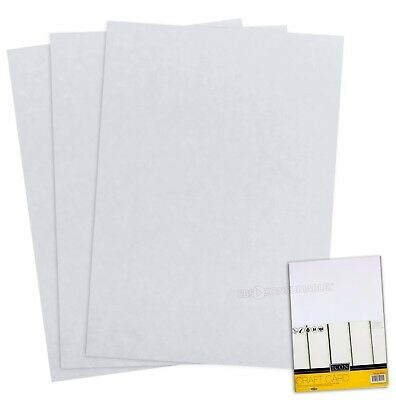 3 packs of 50 sheets (150) A4 160gsm White Craft Card. Medium Thickness Smooth.
