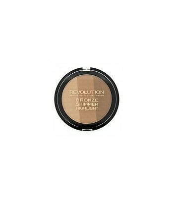 Terra Abbronzante Viso Donna Bronze , Shimmer And Highlight Make Up Revolution