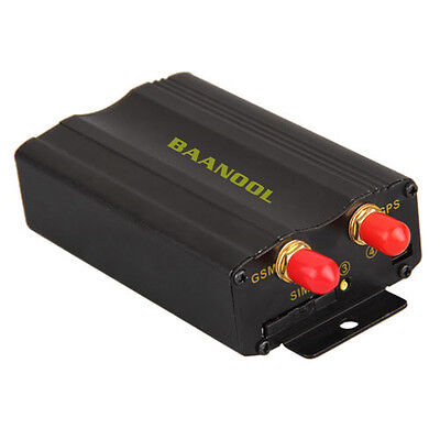 BANNOOL Car Vehicle Tracking Tracker Device for GSM GPRS GPS System