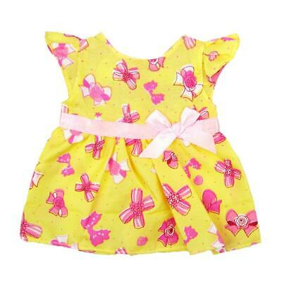 Colorful Summer Party Dress Clothes fit 18'' American Girl Our Generation Dolls