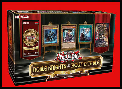 YuGiOh! Noble Knights of the Round Table Box Set : 46 All-Foil Cards + Mat + Box