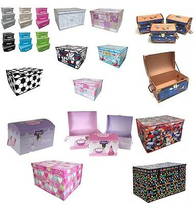 Children Storage Toy Box Jumbo Treasure Chest Clothes Toys Accessories Box New