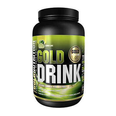 Hidratacion Isotonico Gold Drink 1 Kg Sabor Limon - Gold Nutrition