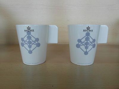 "2  mugs ""Atomium Brussels"" gris Royal Boch"