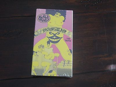 1992 The Black Crowes Who Killed That Bird Out On Your Windowsill VHS  Sealed