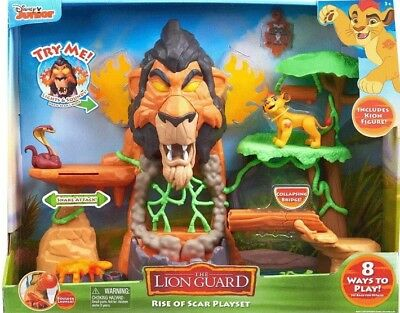 Disney Junior's The Rise of Scar Lion Guard Play Set 3 + Years