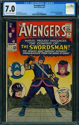 Avengers 19 CGC 7.0 - OW/W Pages