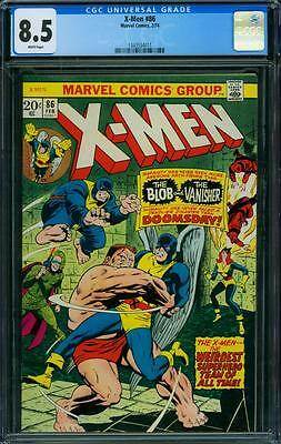X-Men 86 CGC 8.5 - White Pages