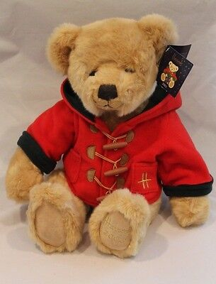"harrods bear 2003 William. 14"" sitting length. Mint condition"