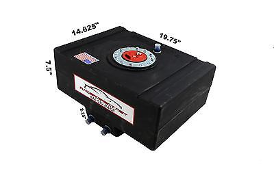 Racerdirect.net 8 Gallon Fuel Cell With Sump Imsa Scca Black