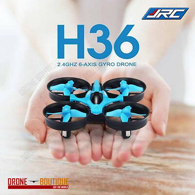 New JJRC H36 Quadcopter Drone 2.4G RC Mini Headless 6-Axis LED Lights RTF Flying