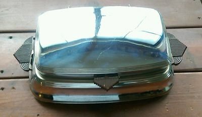 Vintage Art Deco Bersted Model 350 Electric Griddle/sandwich Maker/toaster 500W
